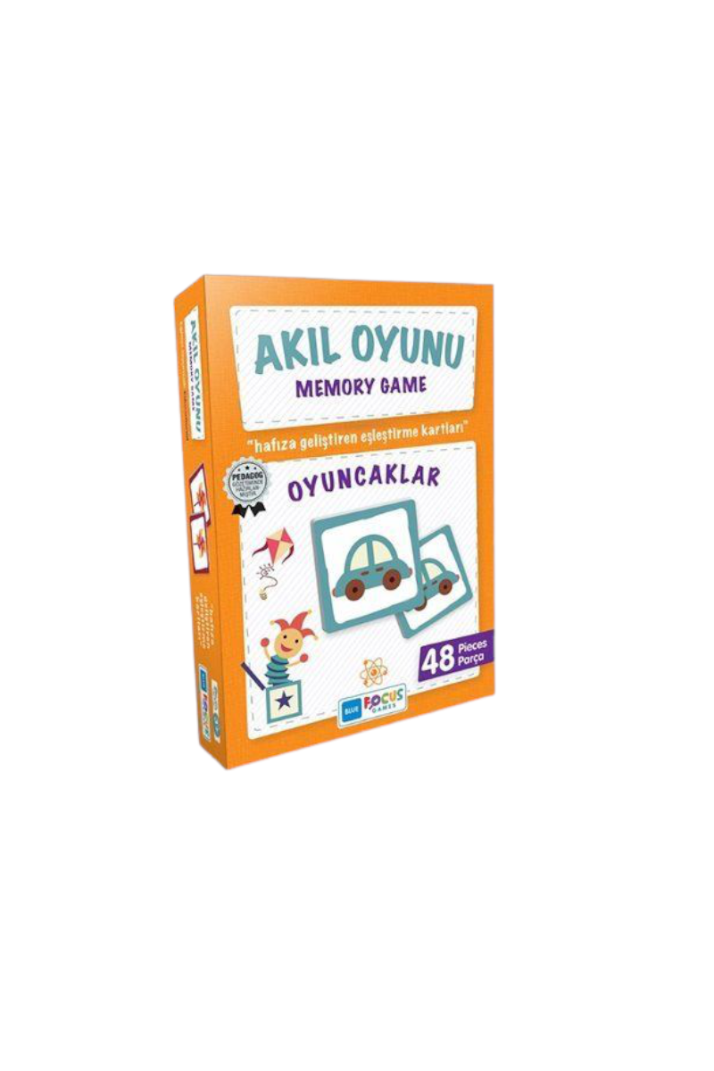 Blue Focus Memory Game Oyuncaklar