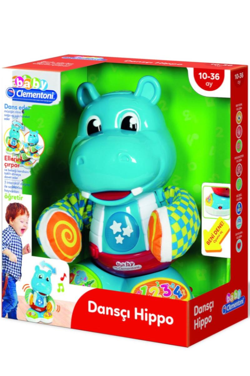 Clementoni Baby Dansçı Hippo