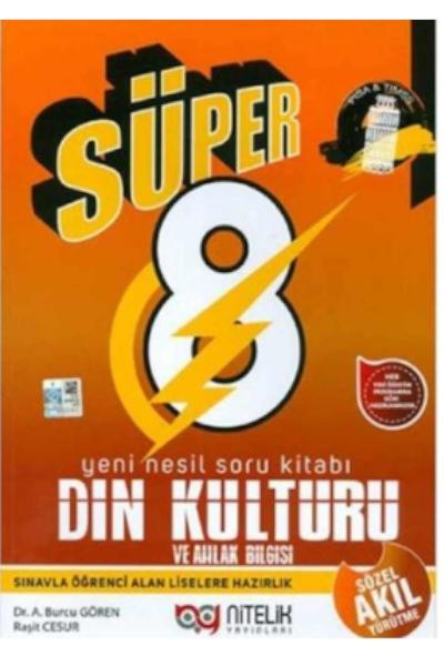 Nitelik Süper 8 Sınıf Din Kültürü Sb