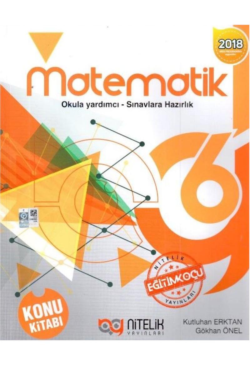 Nitelik 6.Sınıf Matematik Konu Kitabı