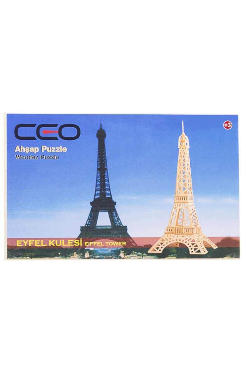 Ceo 3D Ahşap Puzzle Eyfell Kulesi