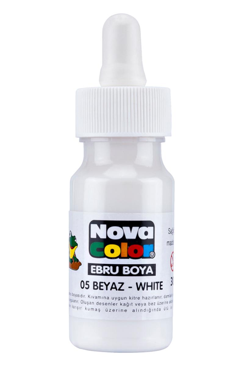 Nova Color Ebru Boyası Beyaz