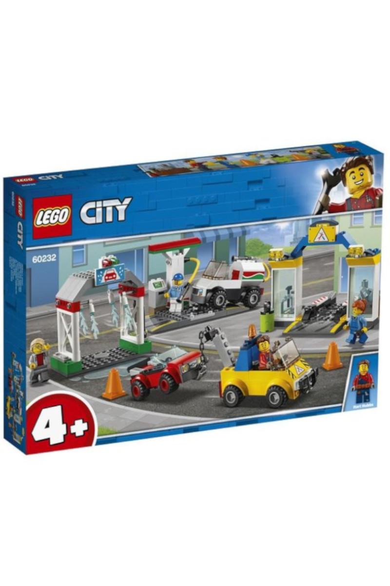 Lego Cıty Araç Bakım Merkezi