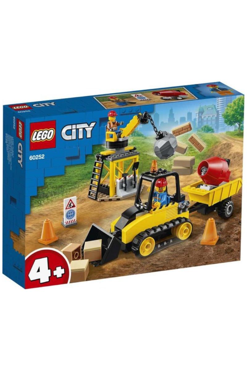 Lego Cıty Constructıon Bulldozer