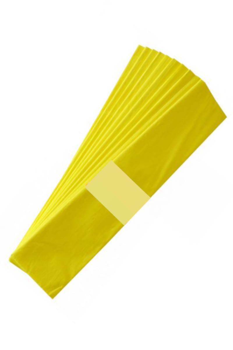 BU-BU Krapon Kağıdı Tekli Sarı