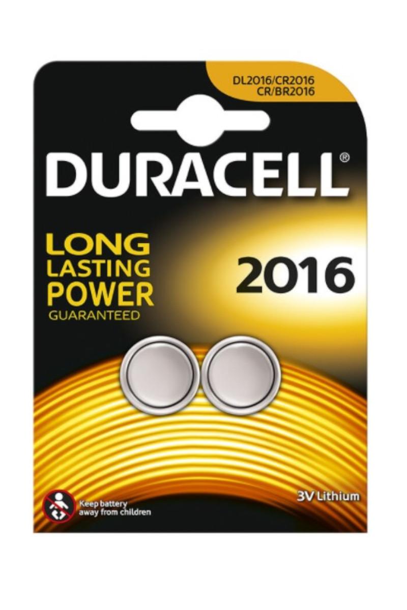 Duracell Lityum 3 Volt 2'li Pil 2016