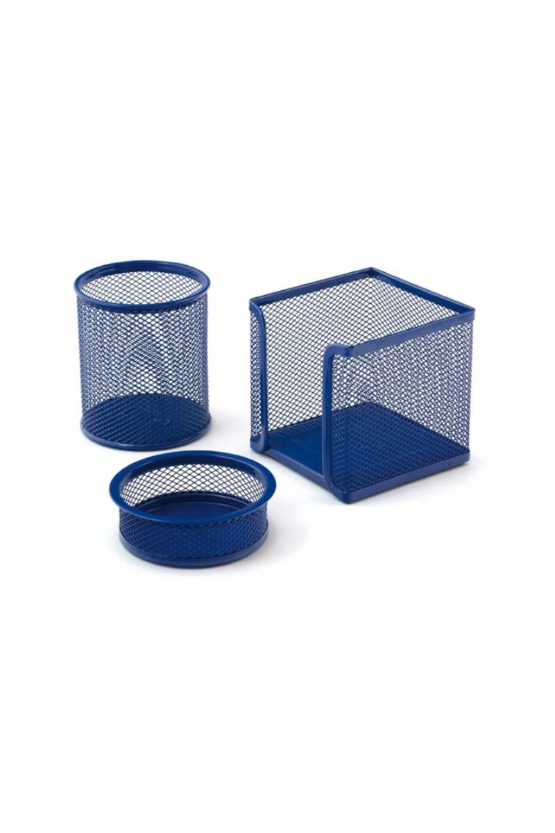Mas 505 Perfore Üçlü Set Mavi (Klm+Ataşlık+K.Blok)