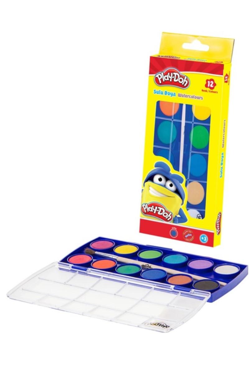 Play-Doh Küçük Suluboya 12 Renk