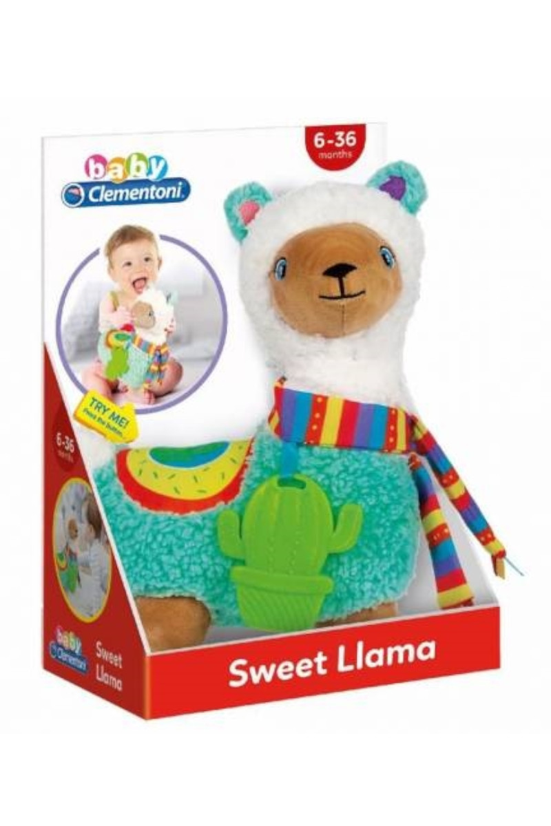 Clementoni Baby Sevimli Lama