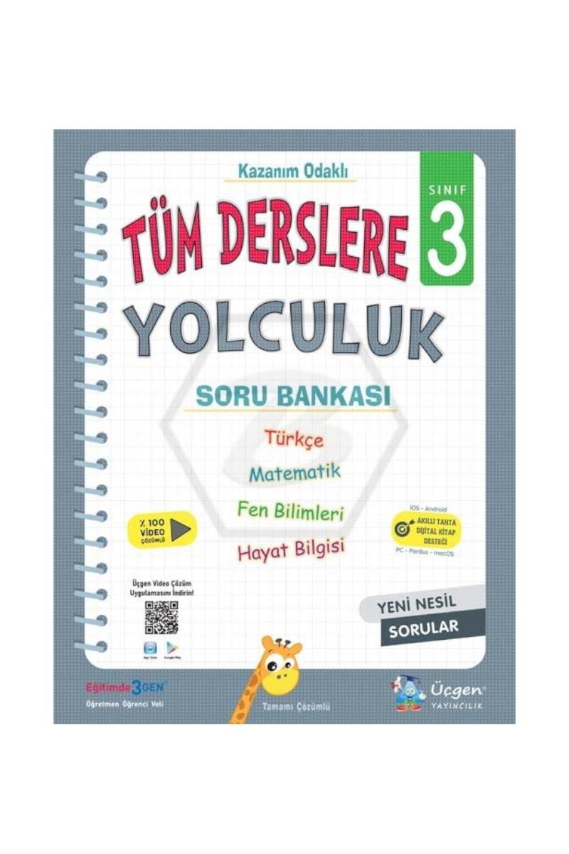 3.Sınıf Üçgen Yayıncılık Tüm Dersler