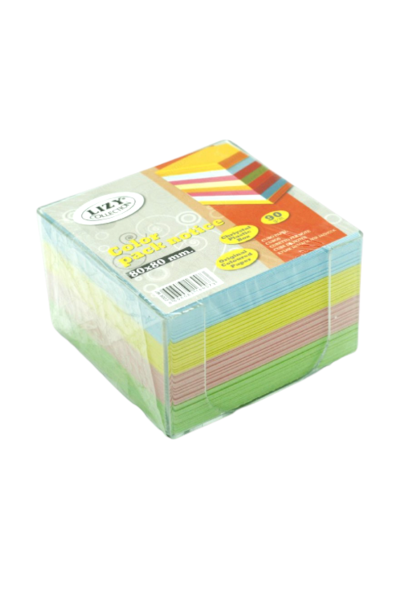 Lizy Plastik Mini Küp Blok Renkli 907