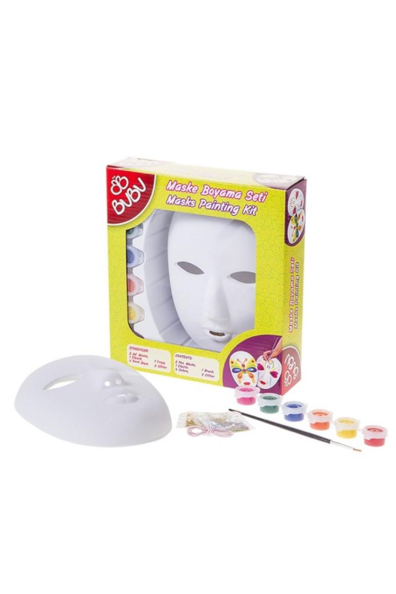 BU-BU Maske Boyama Seti