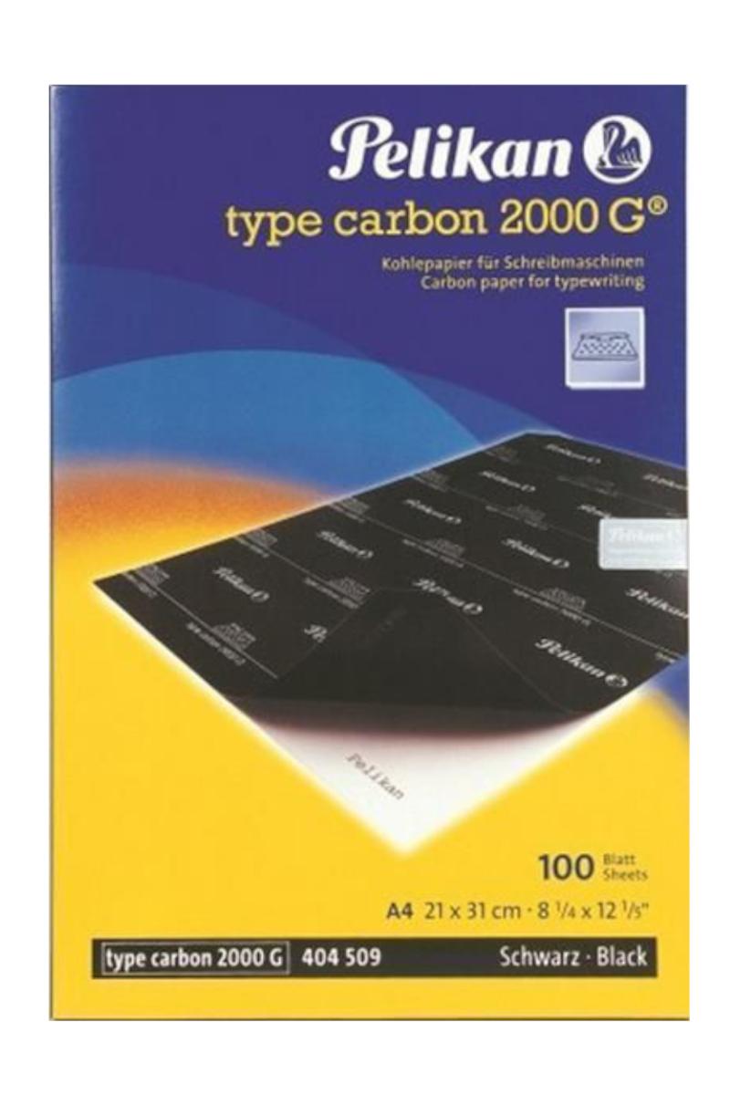 Pelikan 2000 G Karbon Kağıdı Siyah 100'lü