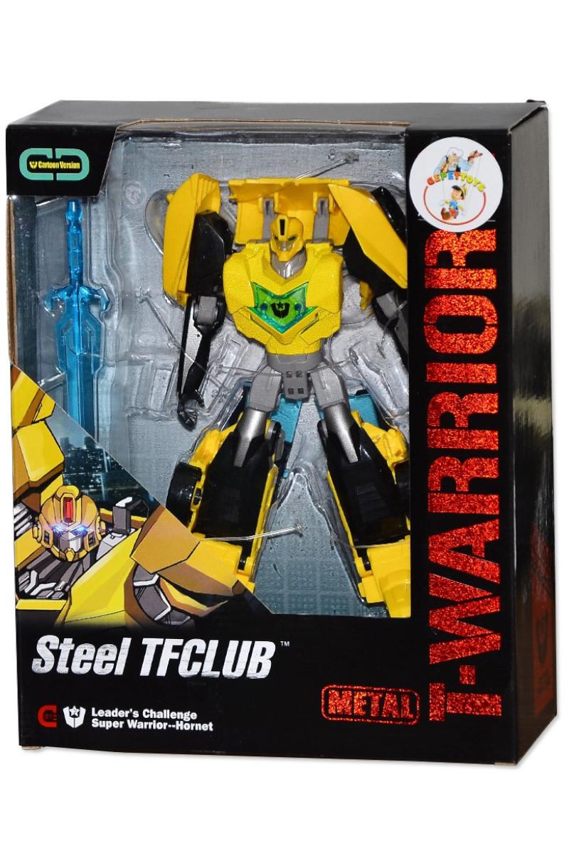 Metal Gövdeli Dönüşebilen Robot 9-56