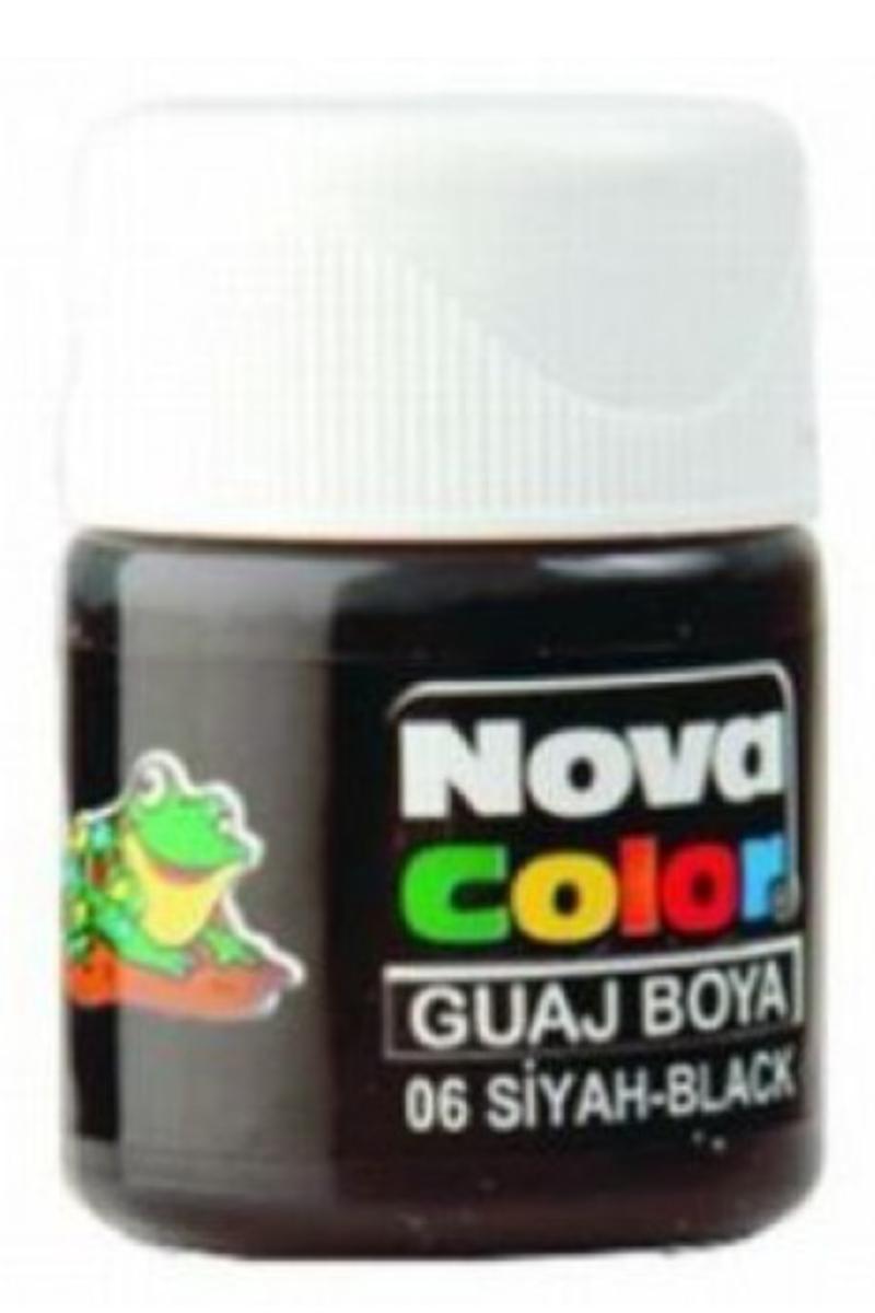 Nova Color Guaj Boya Şişe Siyah