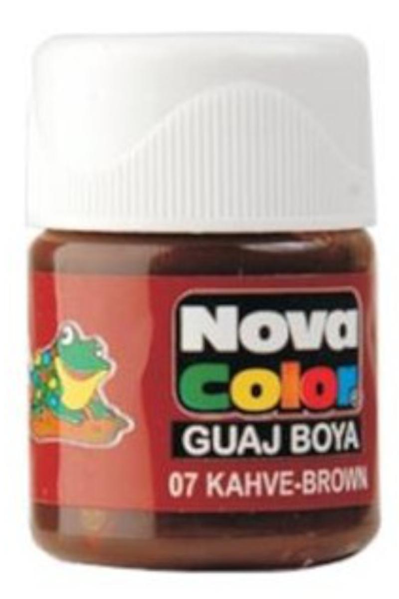 Nova Color Guaj Boya Şişe Kahverengi