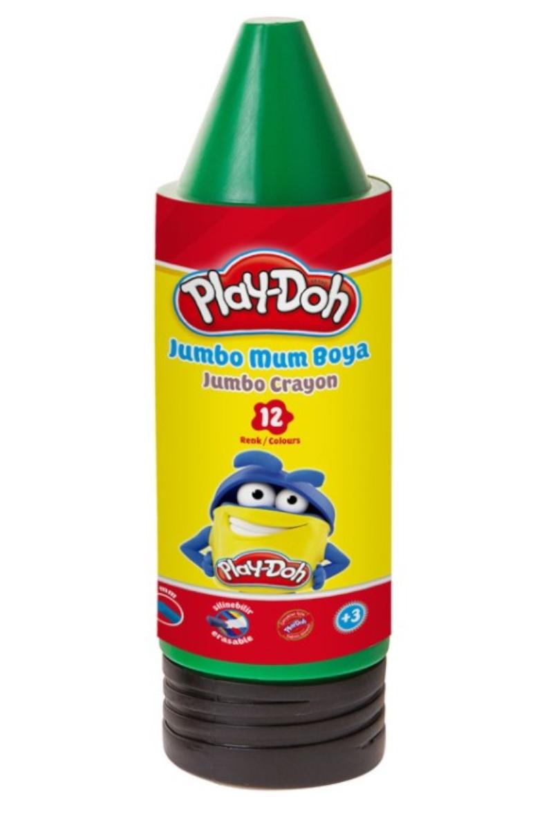 Play-Doh Mum Boya Crayon 12 Renk