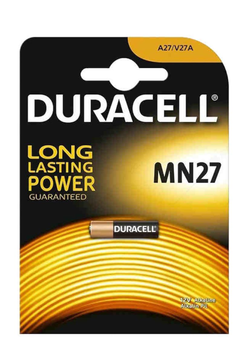 Duracell Alkaline Pil Mn27 12 Volt