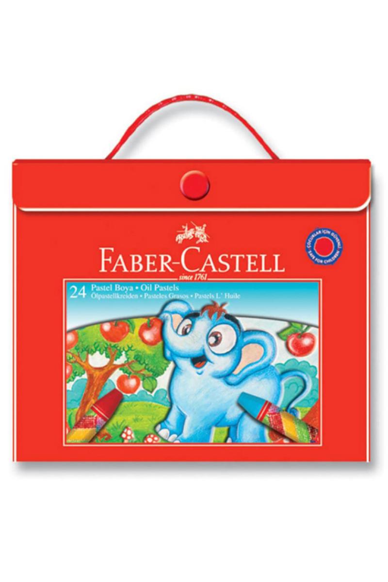 Faber Castell Pastel Boya Çantalı 24'lü