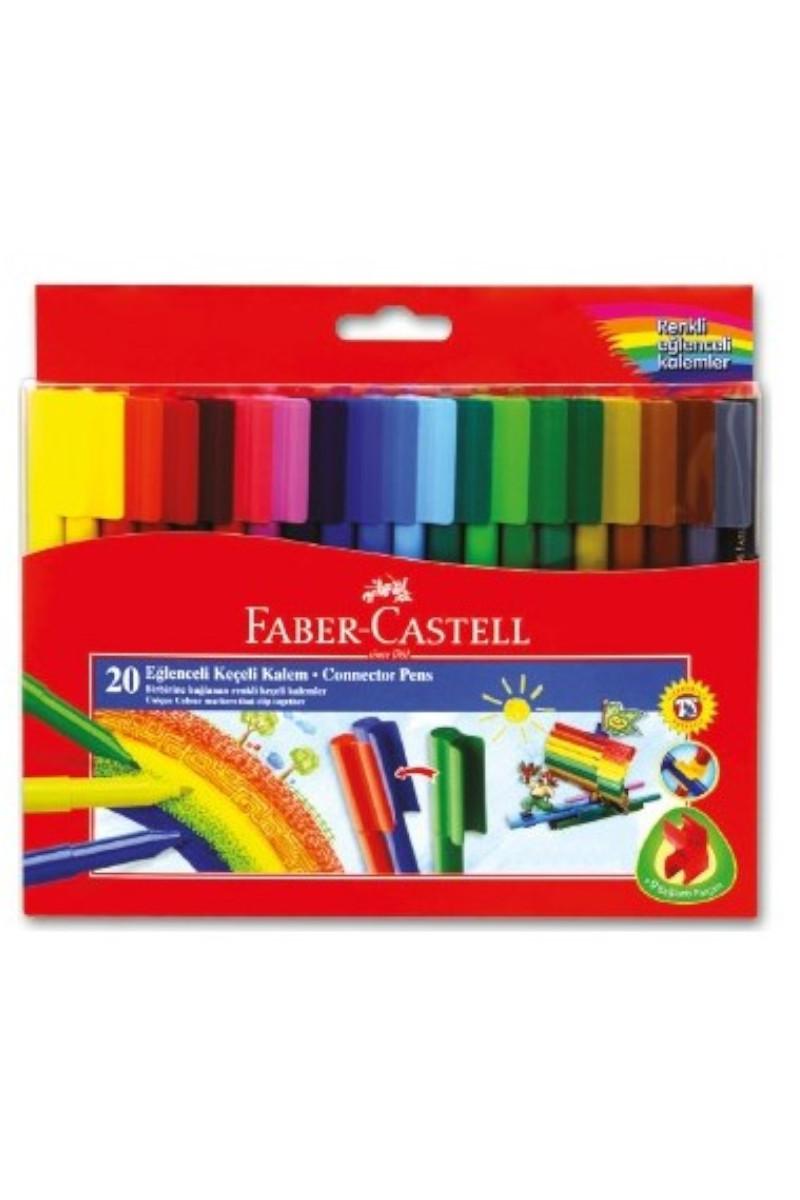 Faber Castell Silinebilir Keçeli Kalem 20'li