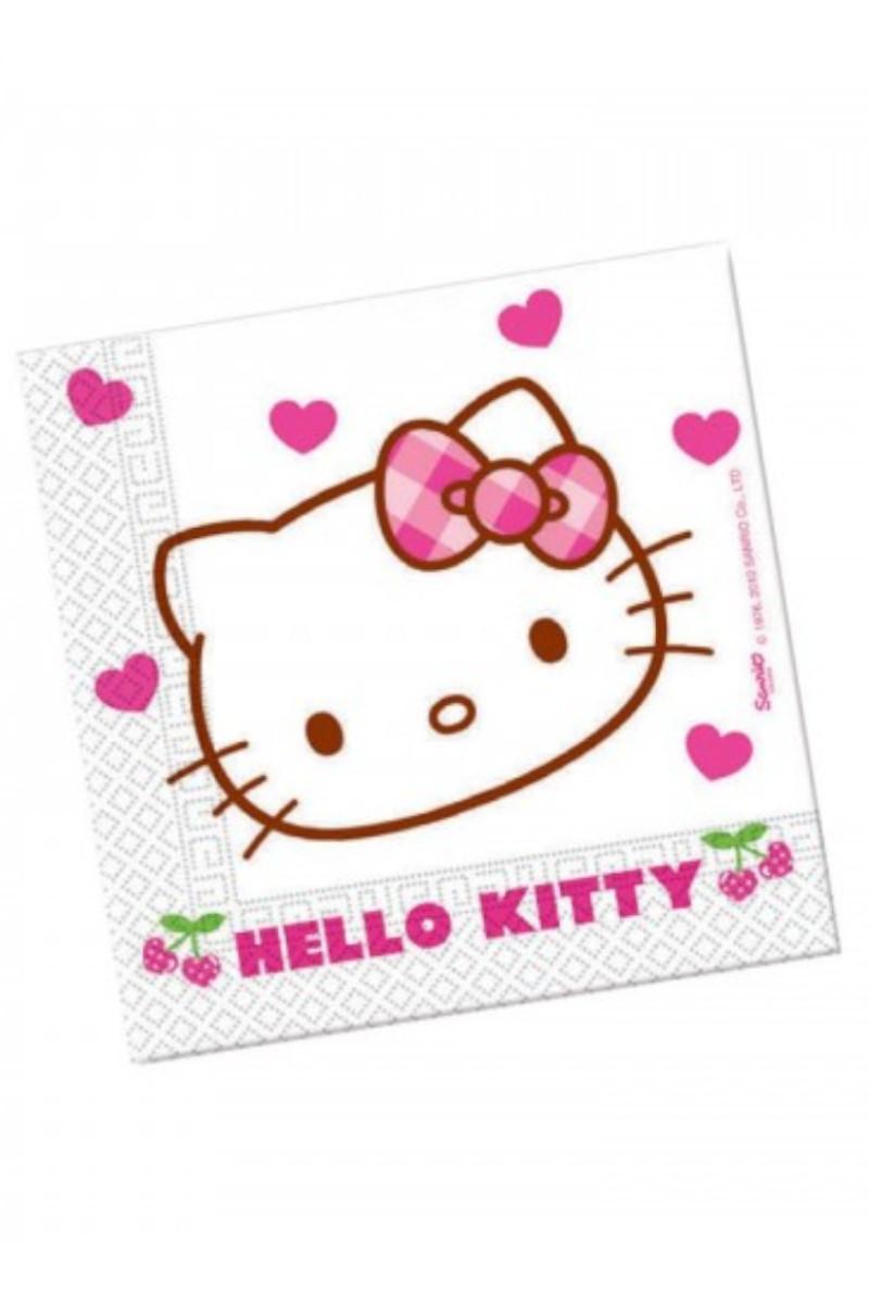 Hello Kitty Kağıt Peçete 33x33 Cm. 20'li
