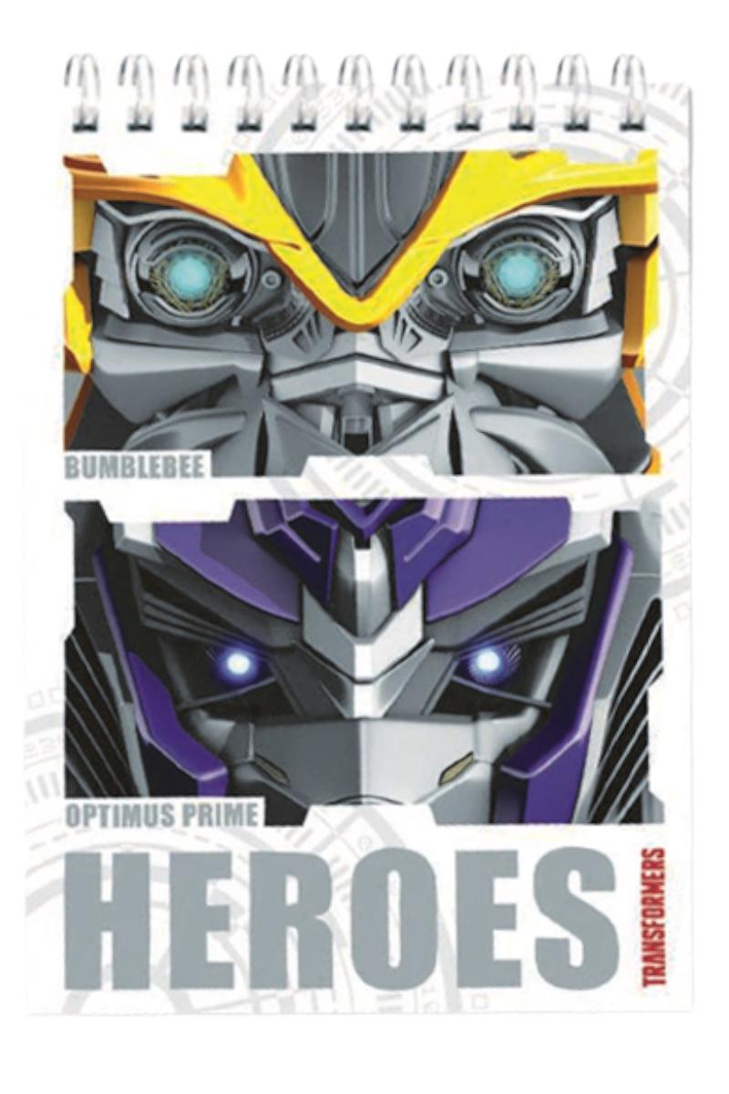Gıpta Bloknot Transformers Sp. A7 Mini (48)