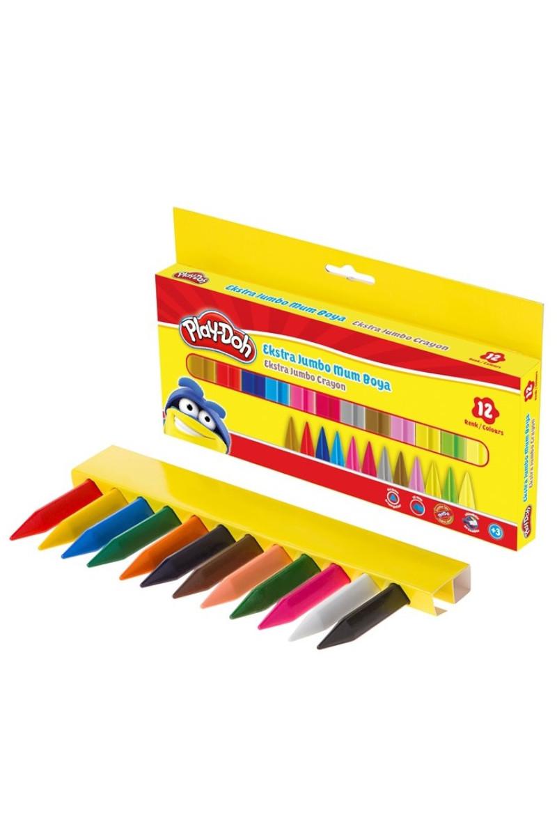 Play-Doh Crayon Extra Jumbo 12 Renk Play-Cr011