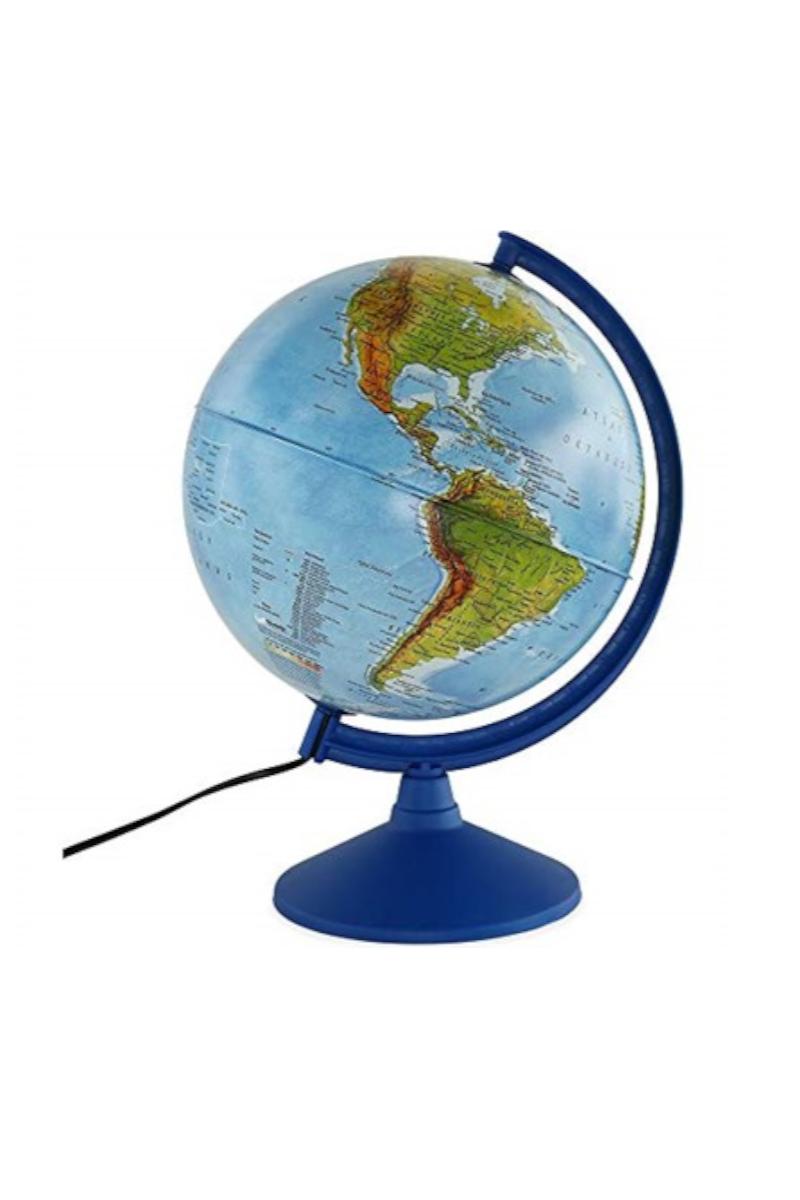 Gürbüz Işıklı Fiziki Küre 30cm Fiziki+Siyasi