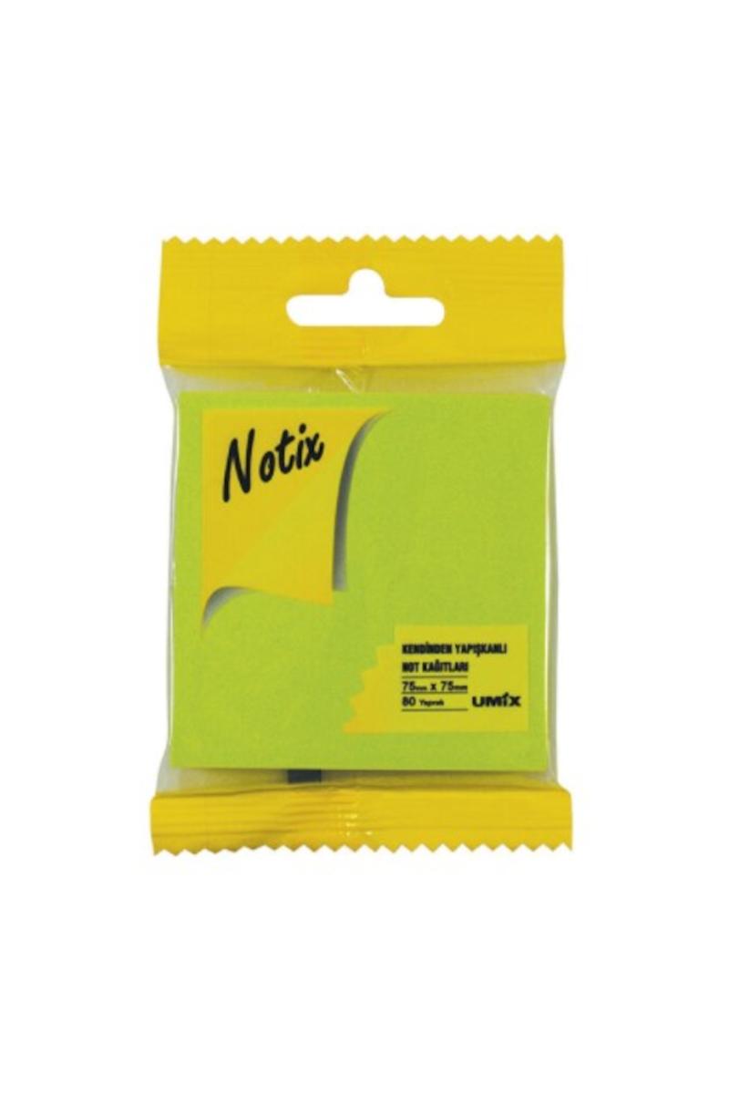 Notix Neon Yeşil Yapışkanlı Not Kağıdı