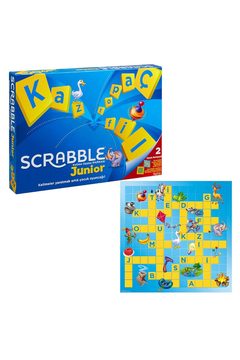 Mattel Scrabble Junior Türkçe