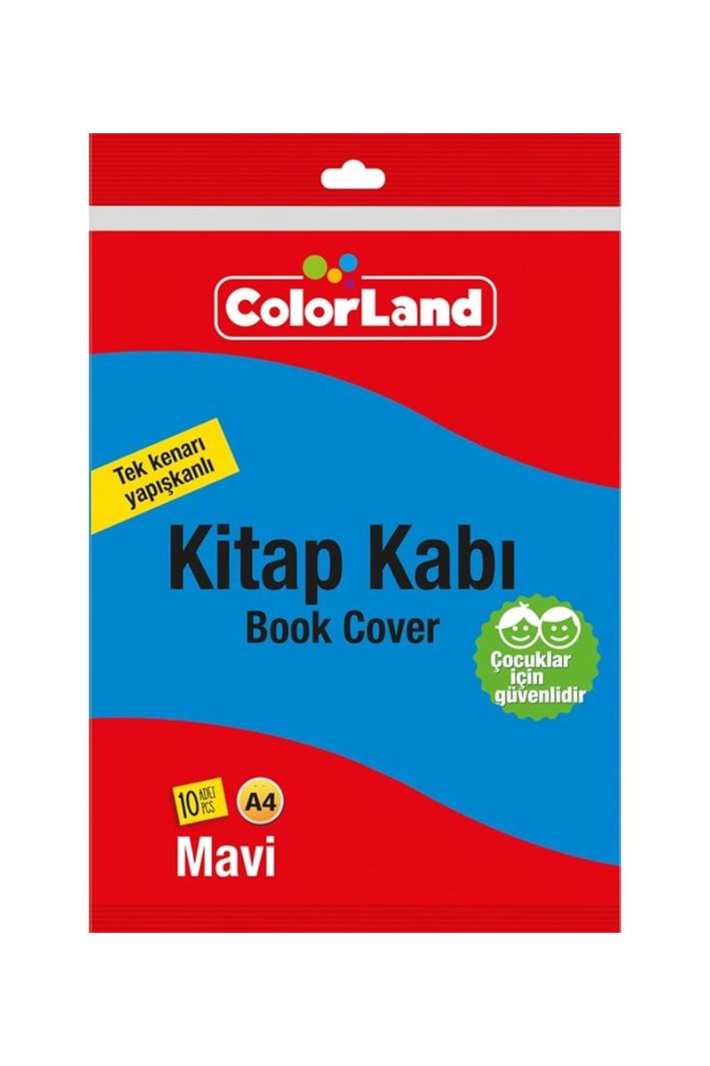 Colorland Kitap Kabı Mavi 10lu