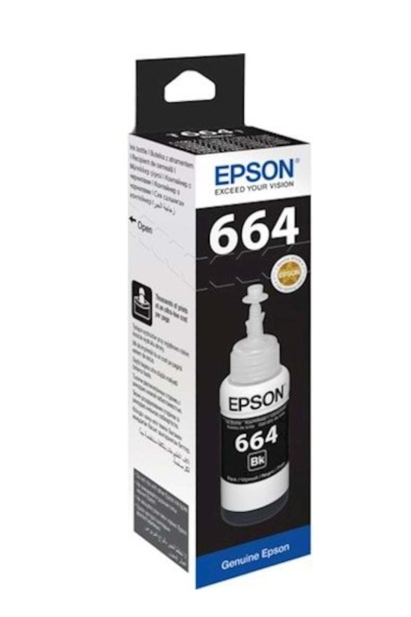 Epson C13T66414A Siyah Mürekkep Kartuş 6500 Sayfa