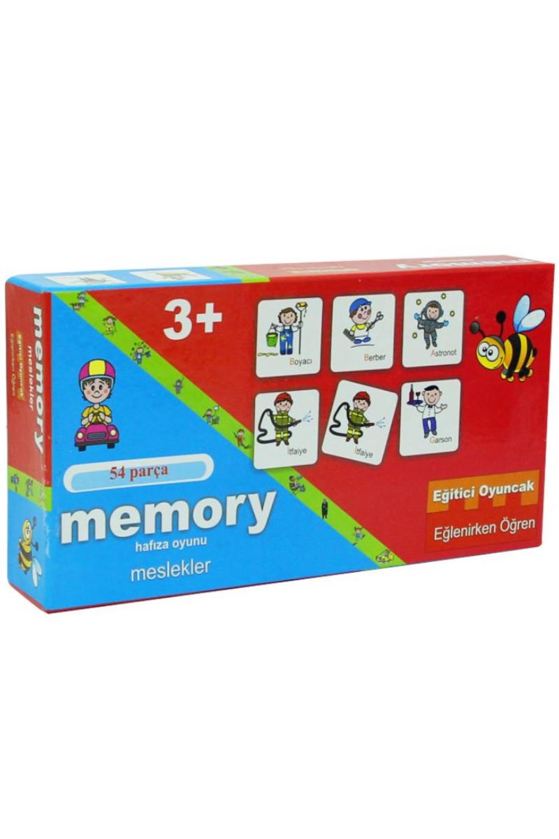 Meslekler Hafıza Oyunu 54 Parça