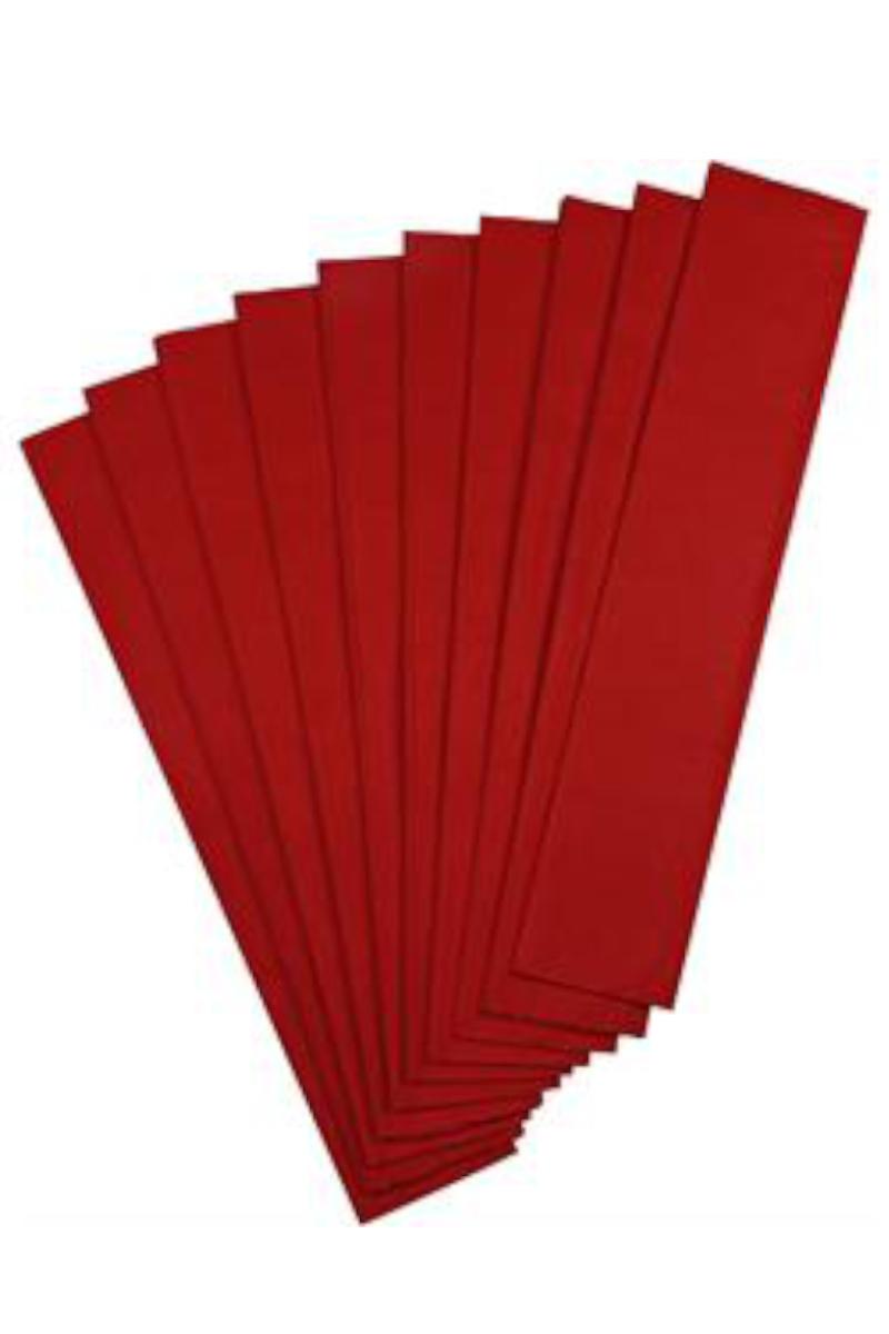 Nova Color Renkli Krapon Kağıdı Kırmızı 10'lu