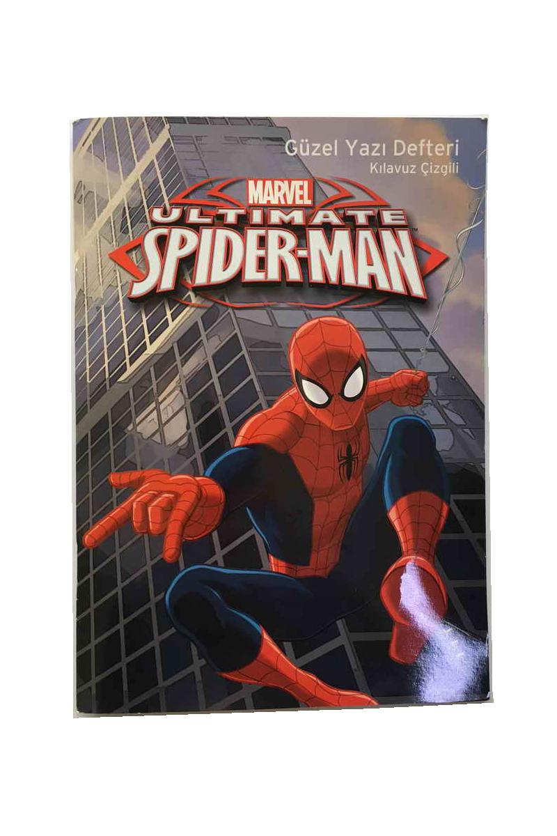 Keskin Color Spider-Man Güzel Yazı Defteri A4 40 Yp