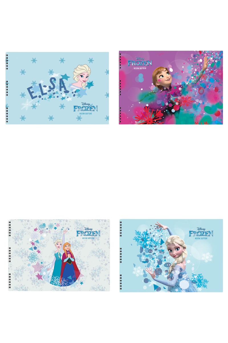 Keskin Color Frozen Resim Defteri Spr.25x35 15 Yp.