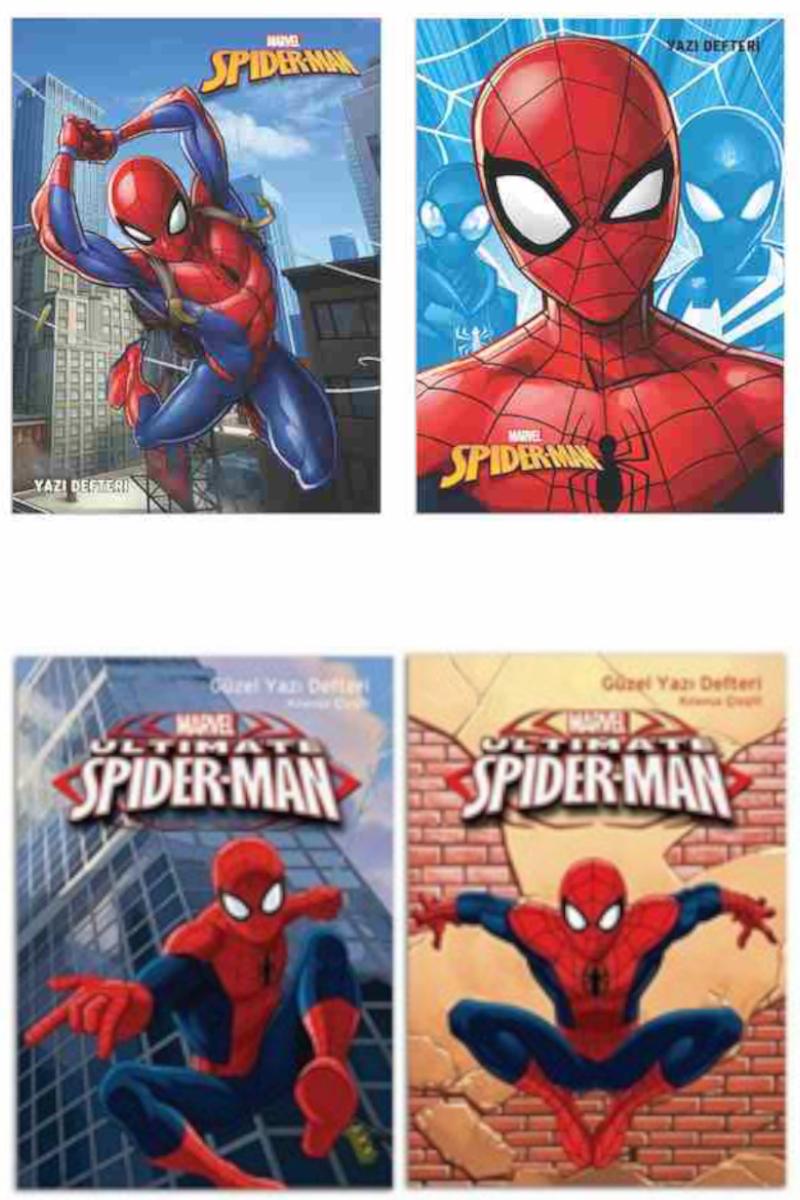 Keskin Color Spiderman Güzel Yazı Defteri A5 40 Yaprak