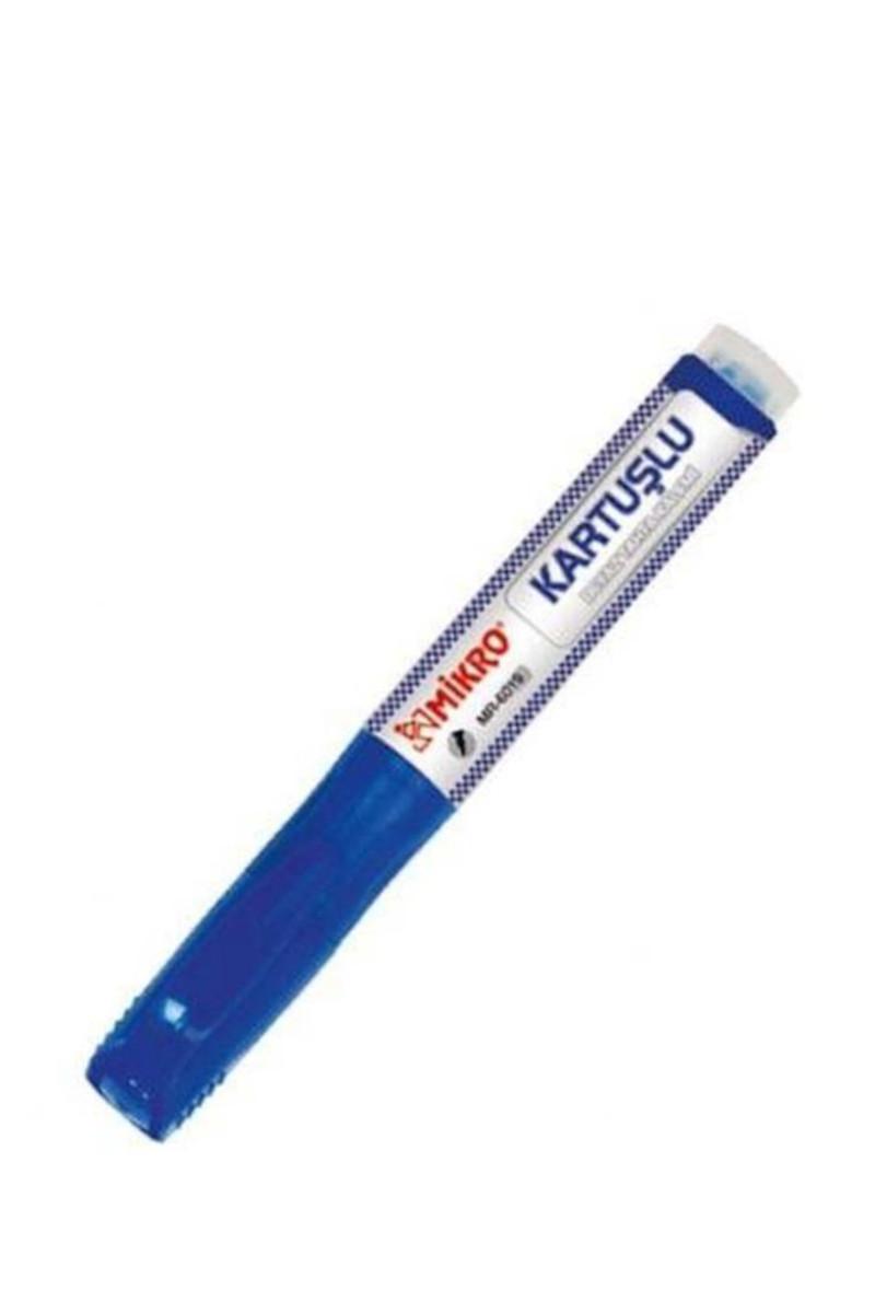 Mikro Kartuşlu Beyaz Tahta Kalemi Mavi