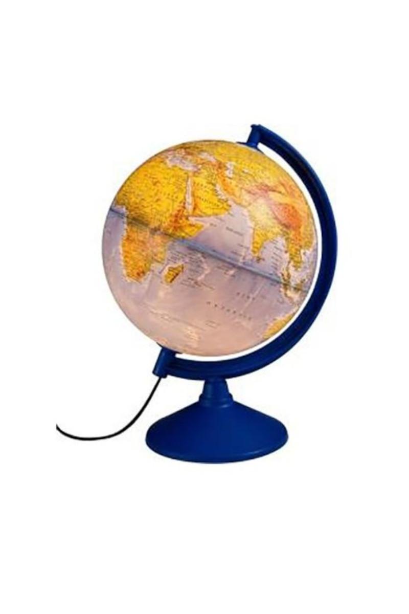 Gürbüz Işıklı Fiziki Küre 20 cm (Fiziki+Siyasi)