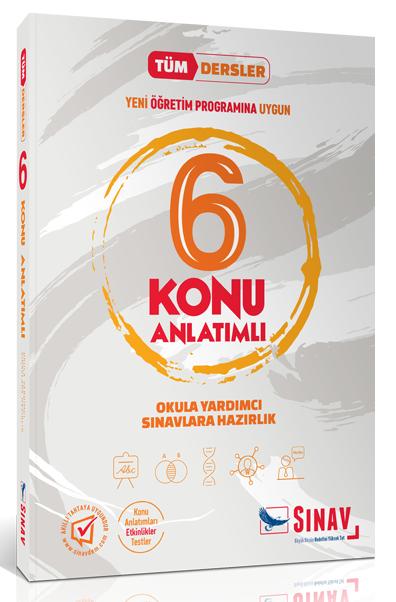 Sınav 6. Sınıf Tüm Dersler Konu Anlatımlı Sınav Yayınları