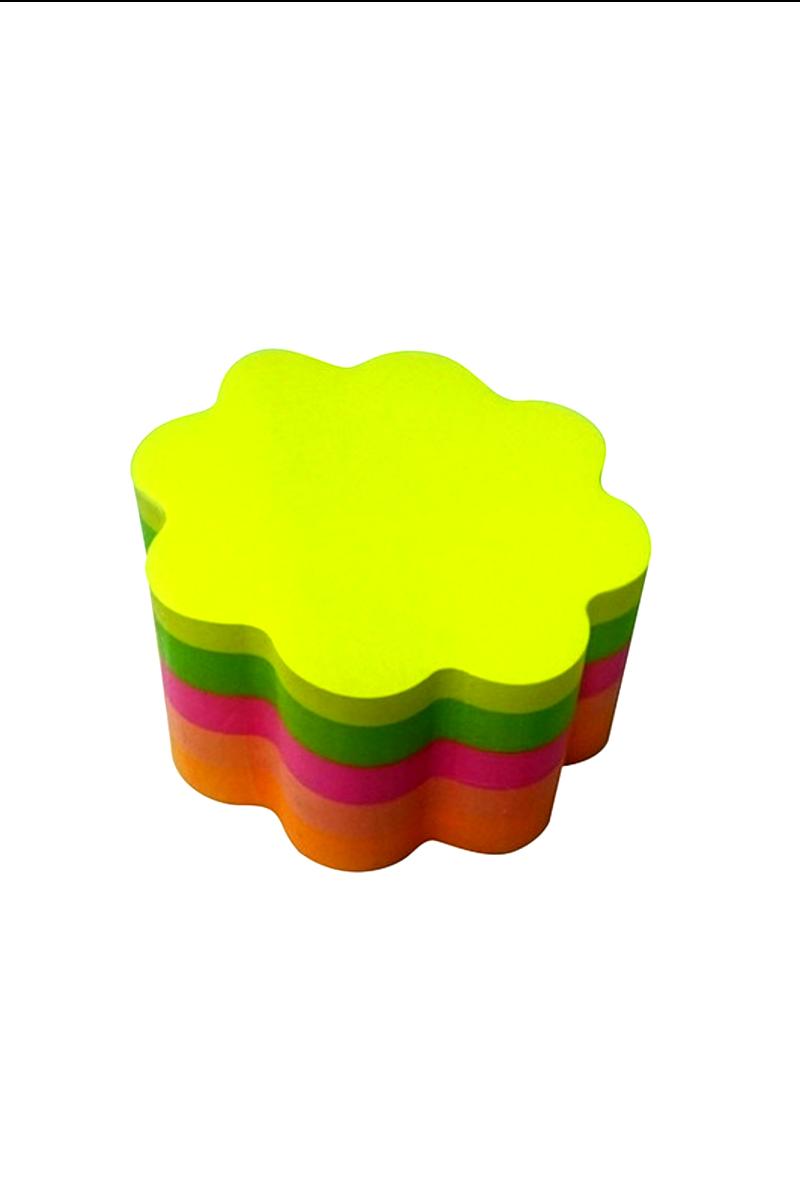 Notix Neon 5 Renk Çiçek Yapışkanlı Not Kağıdı