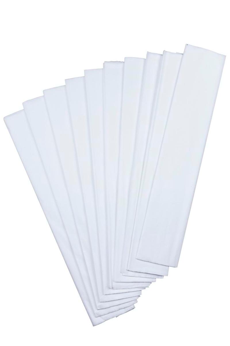 Nova Color Renkli Krapon Kağıdı Beyaz 10'lu