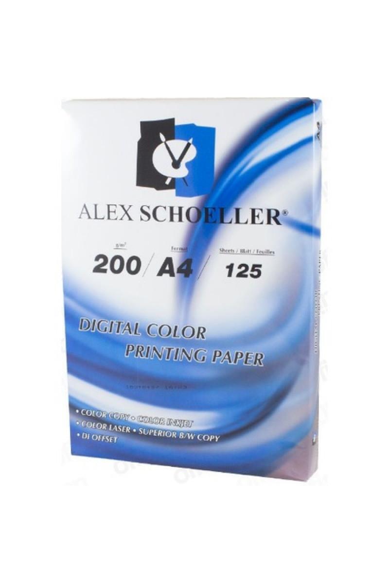 Alex Sch.Fotokopi Kağıdı A4 200 Gr.125/10 Alx827