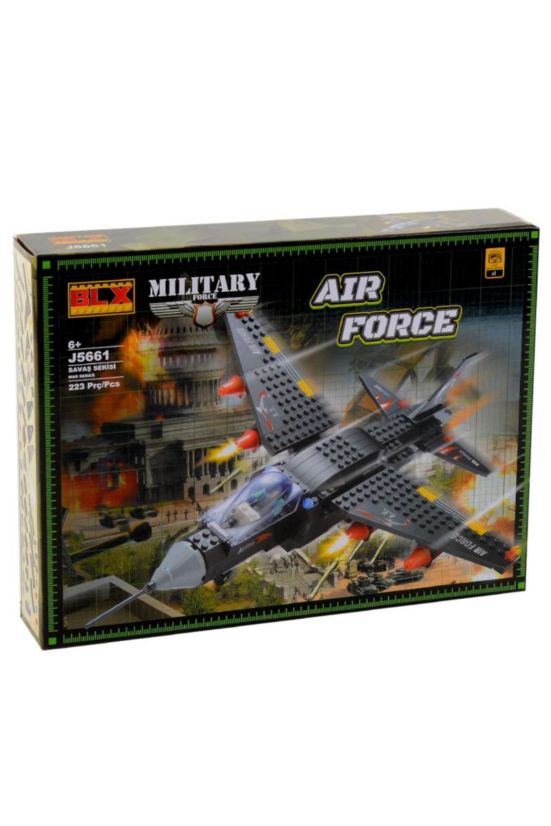 Lego 223pcs Asker Uçak Fuze Atar