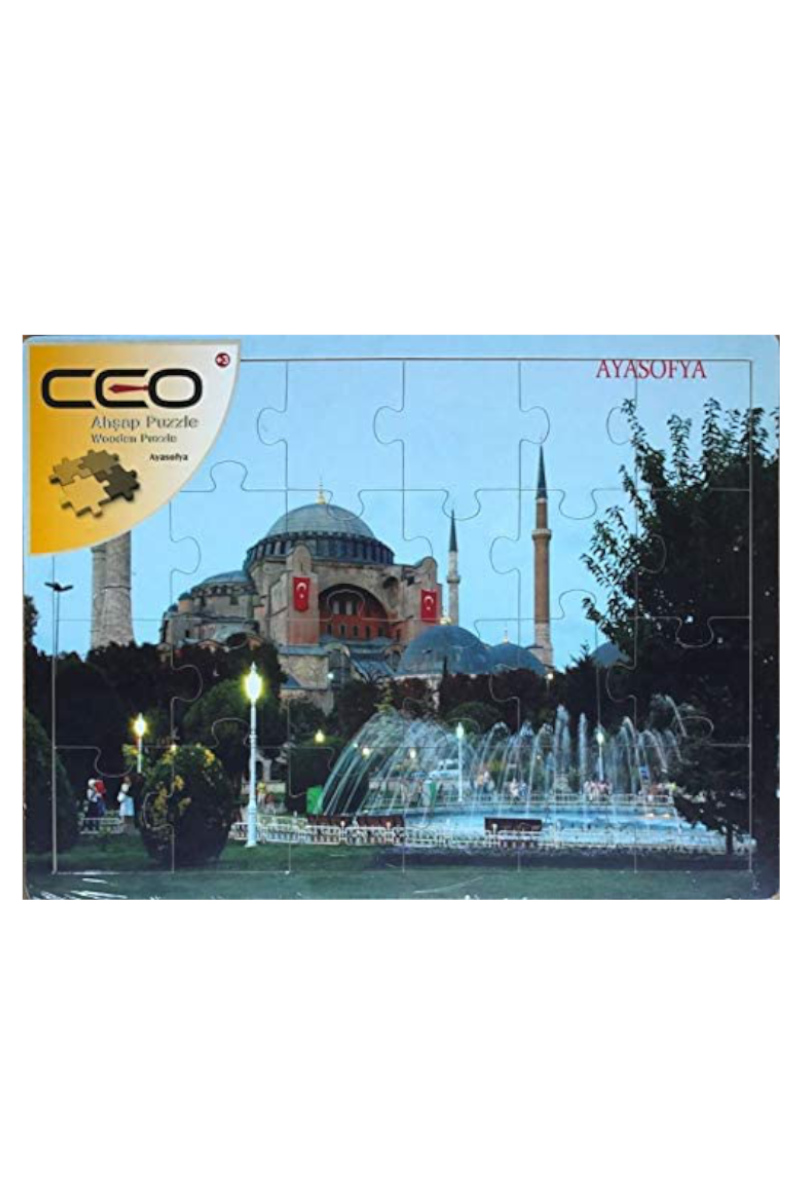 Ceo Ahşap Puzzle Ayasofya 40x30cm