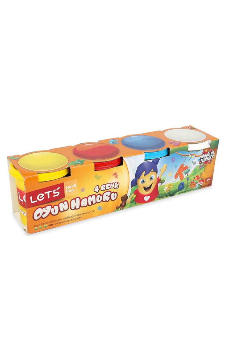 Lets Oyun Hamuru 4 Renk L8340