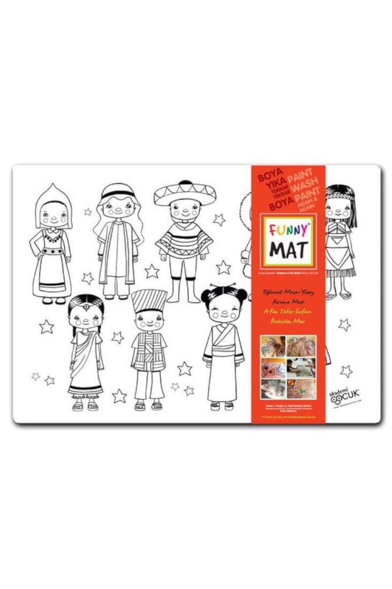 Funny Mat-Dünya Çocukları