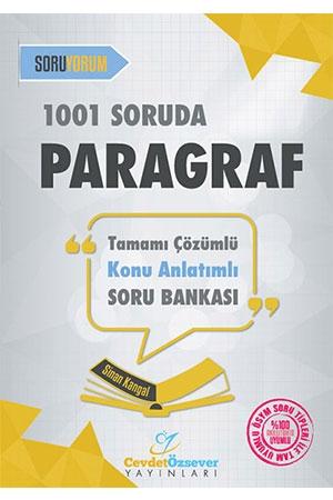 Cevdet Özsever 1001 Soruda Paragraf Konu Anlatımlı Soru Bankası Çözümlü Cevdet Özsever Yayınları