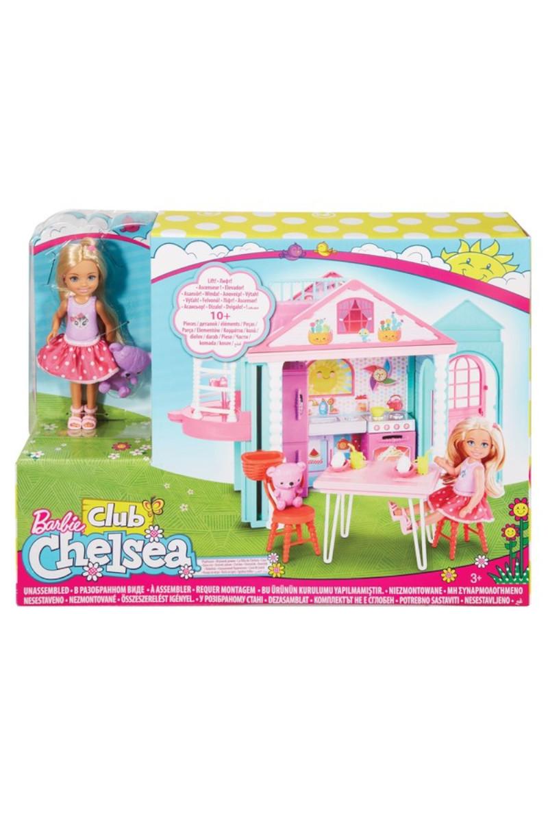 Barbie Chelsa´nın İki Katlı Evi