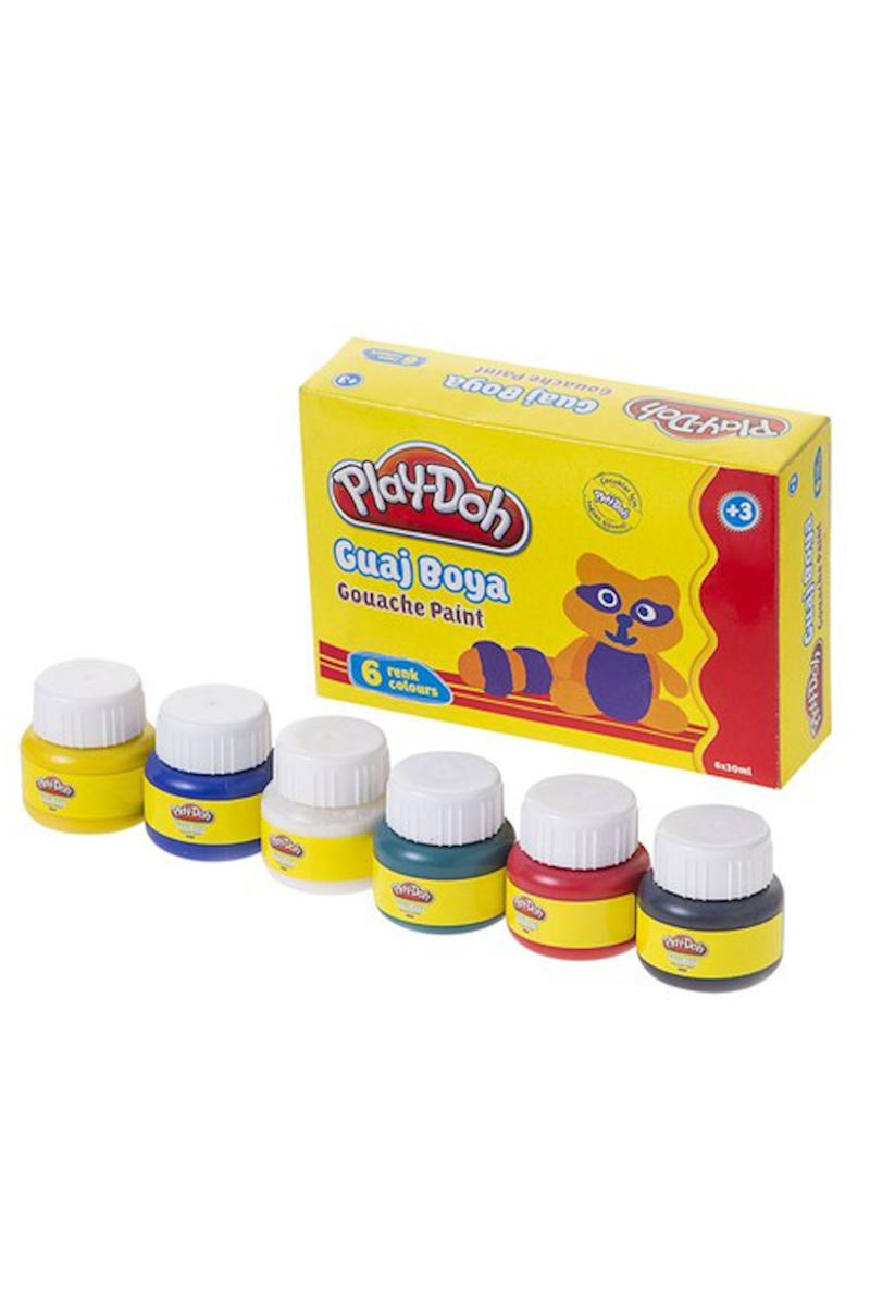 Play-Doh Guaj Boya 6 Renk 30 ml